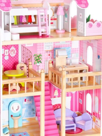 3 kondygnacje domku dla lalek Ecotoys