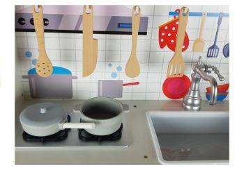 Precyzyjnie wykonane detale kuchni