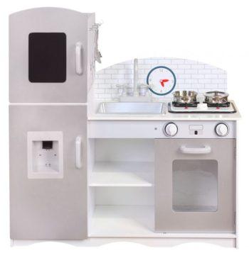 Drewniana kuchnia dla dzieci ECOTOYS PLK529