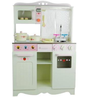 Drewniana kuchnia dla dzieci Ania