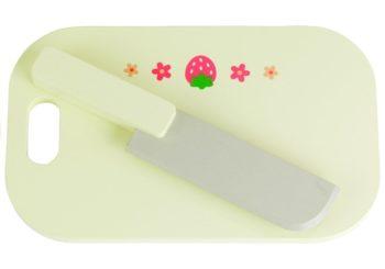 Drewniany nóż z deską