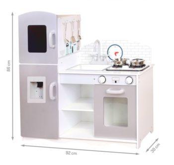 Wymiary drewnianej kuchni PLK529