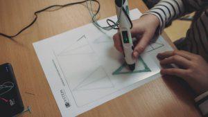 Autyzm długopis 3D projekt